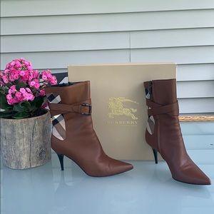 Burberry stiletto booties